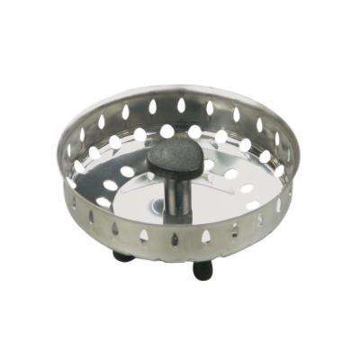 3/4 in. Basket Strainer with Rubber Stopper