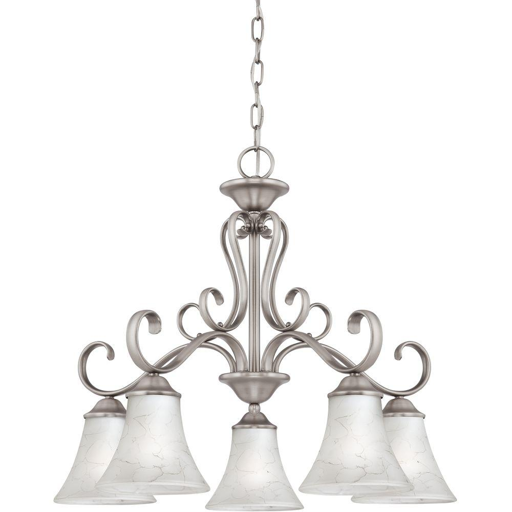 Home Decorators Collection Duchess 5-Light Antique Nickel Chandelier