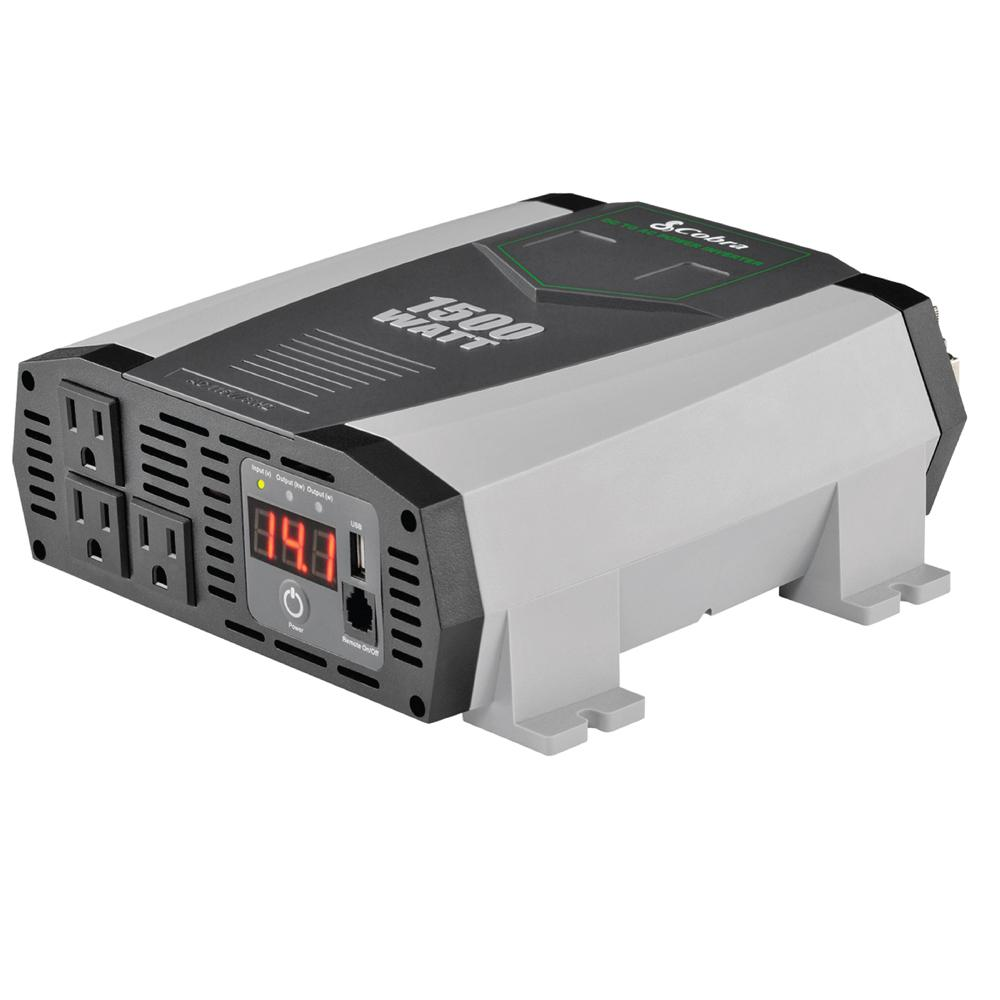 How To Build 10 Amp 138 Volt Power Supply Ridgid 100 Watt Inverter Rd97100 The Home Depot Professional 1500