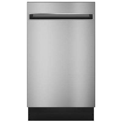 Profile 18 in. Top Control Dishwasher in Stainless Steel with Stainless Steel Tub, 47 dBA