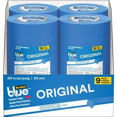 ScotchBlue 0.94 in. x 60 yds. Original Multi-Use Painter's Tape (9-Pack) (Case of 4)