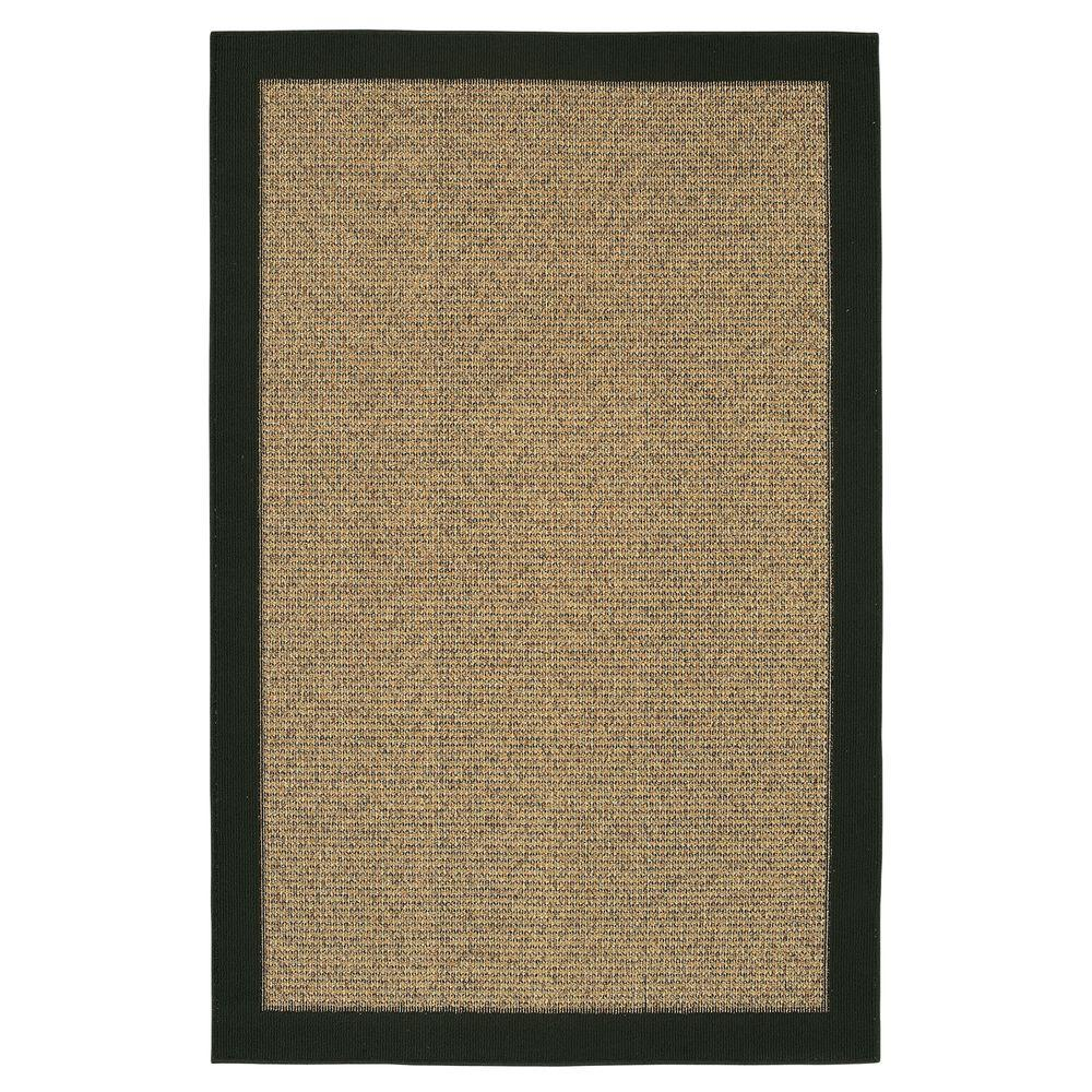 Mohawk Willow Border Black 2 ft. 6 in. x 3 ft. 10 in. Area Rug