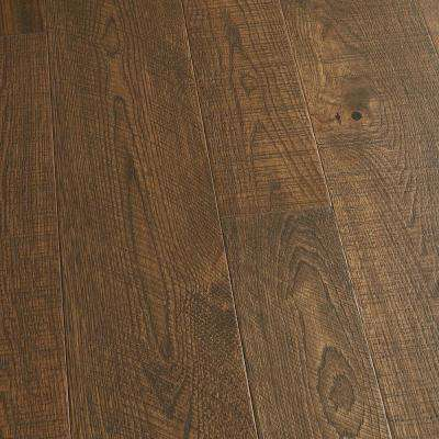 French Oak Crystal Cove 3/8 in. T x 4 in. and 6 in. W x Varying L Engineered Click Hardwood Flooring(19.84 sq. ft./case)