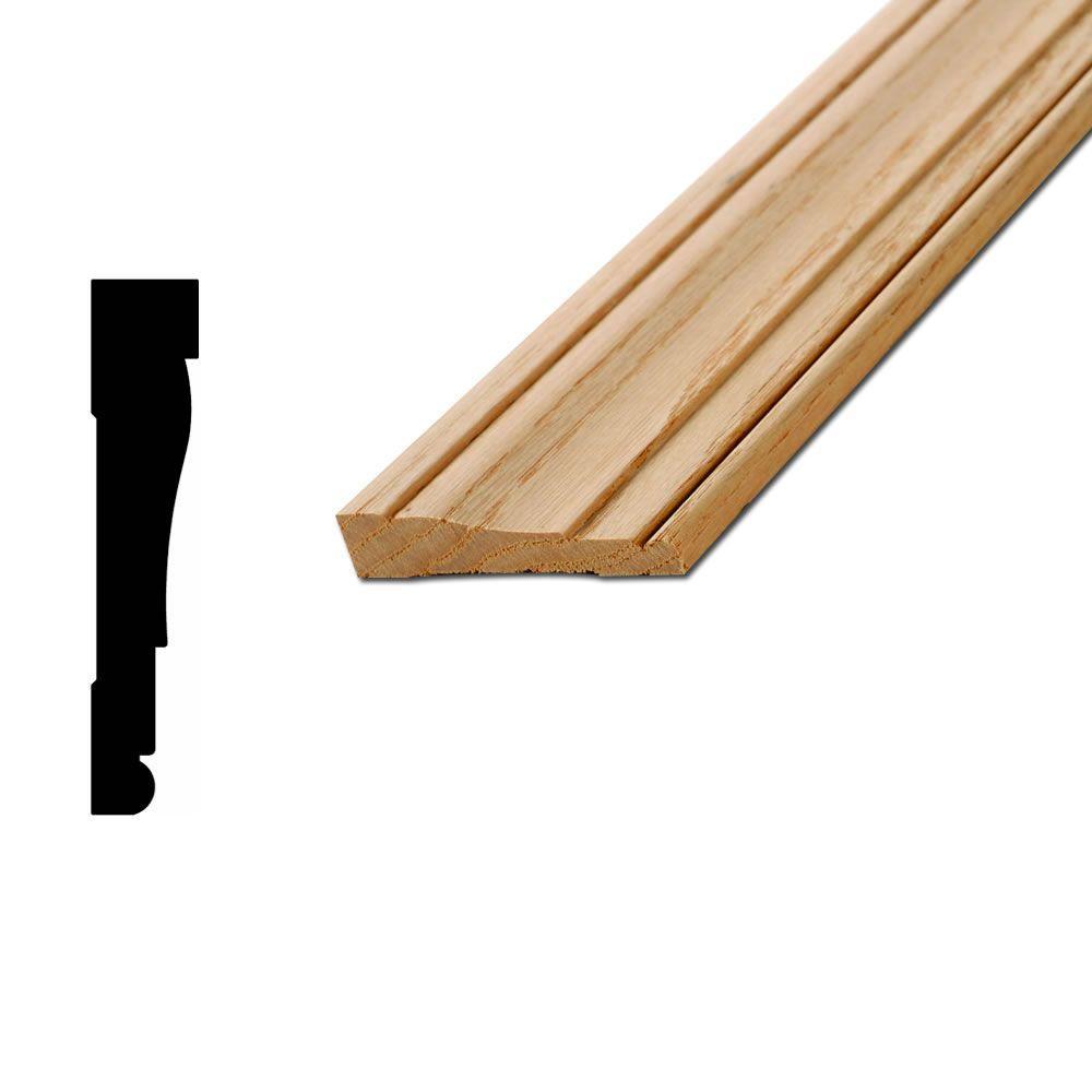 American wood moulding wm445 5 8 in x 3 1 4 in solid oak for 1 x 4 window casing