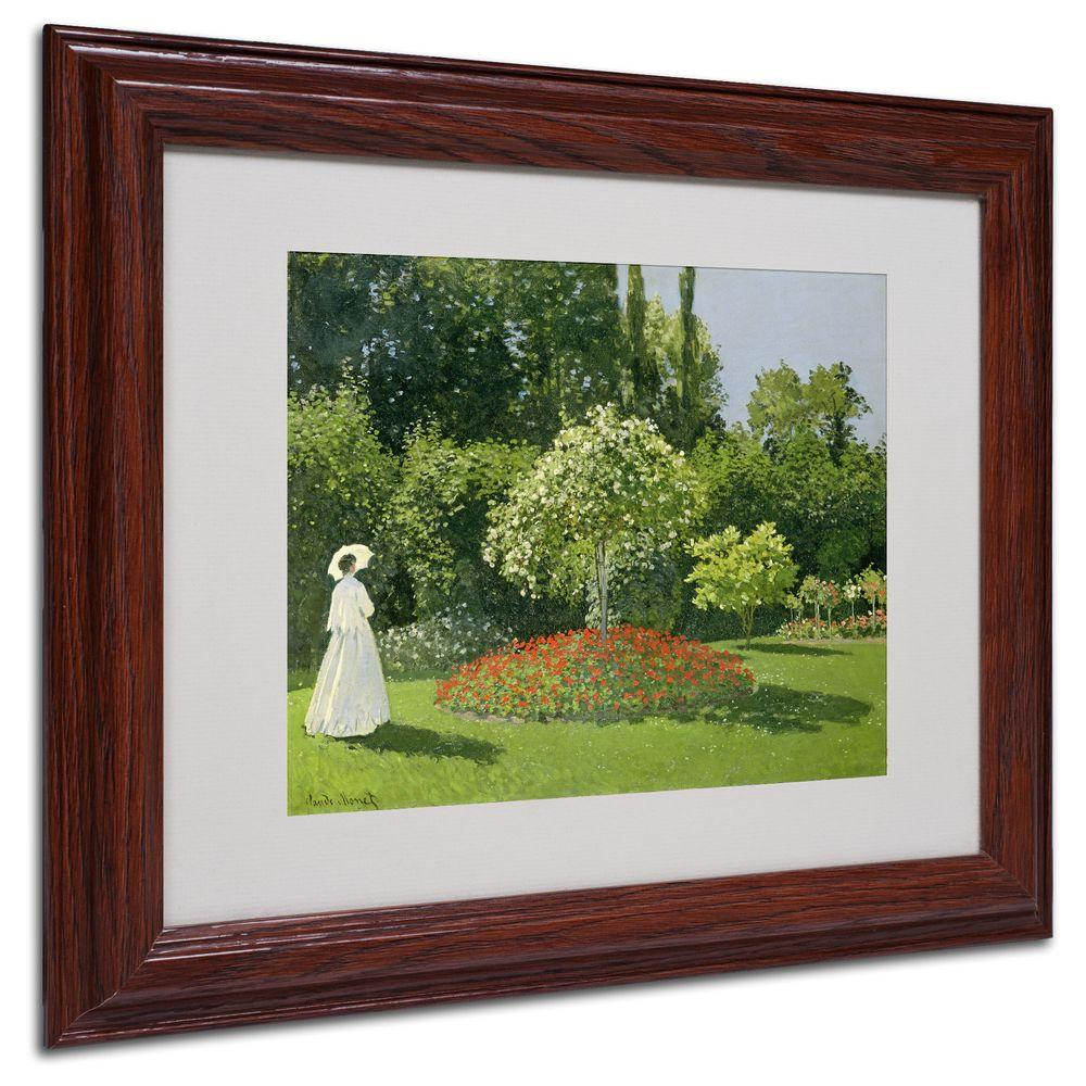 11 in. x 14 in. Jeanne Marie Lecadre in the Garden