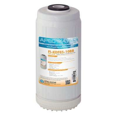 10 in. Whole House Replacement Water Filter Iron and Hydrogen Sulfide Removal