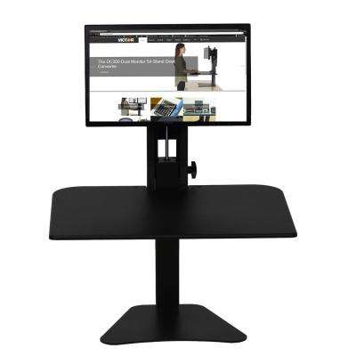 Manual Single Monitor Standing Desk