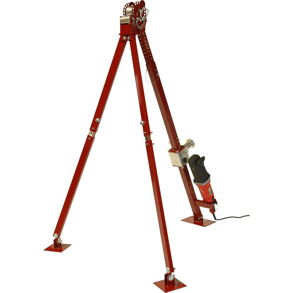 Southwire 3,000 lb. Tripod for Pull-It 3000X-56822201 - The Home Depot