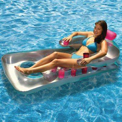 Pink Pool French Classic Lounger