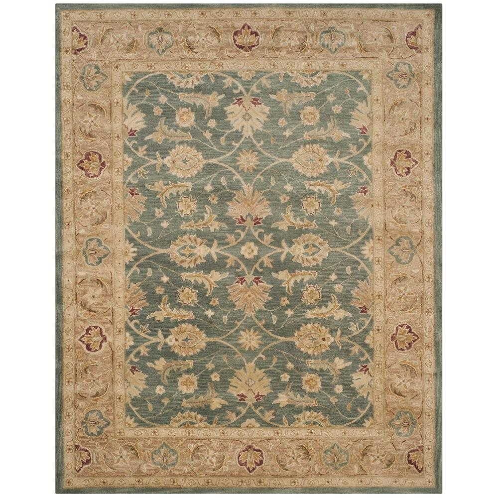 Safavieh Antiquity Teal Blue/Taupe 8 Ft. X 10 Ft. Area Rug