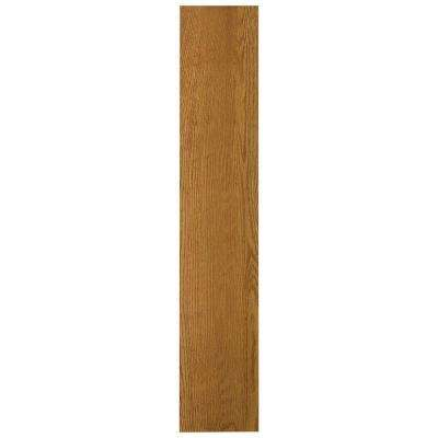 6 in. x 0.75 in. x 30 in. Cabinet Filler in Medium Oak