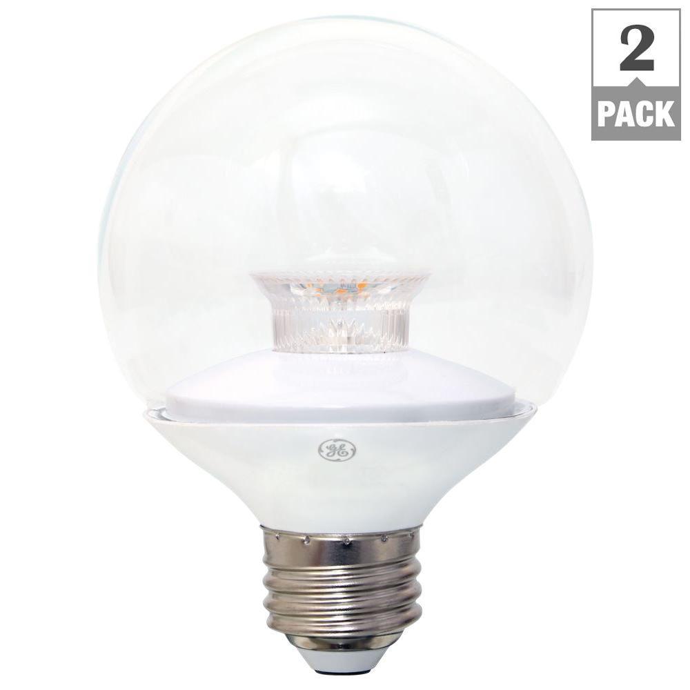 Westinghouse 40w Equivalent Soft White Ca11 Dimmable: GE 40W Equivalent Soft White G25 Globe Dimmable LED Light