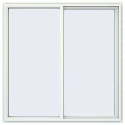 59.5 in. x 59.5 in. V-4500 Series Right-Hand Sliding Vinyl Windows - White