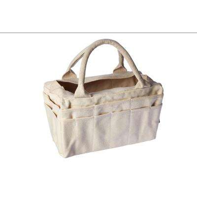 Classic 7 in. Canvas Tool Bag in White