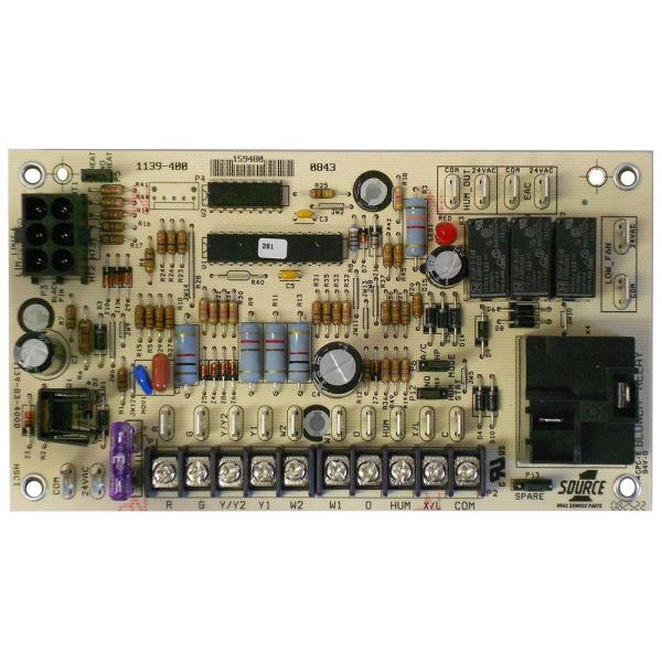 control board for air handler/electric furnace