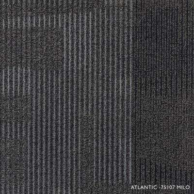 Atlantic Milo Loop 19.68 in. x 19.68 in. Carpet Tiles (8 Tiles/Case)
