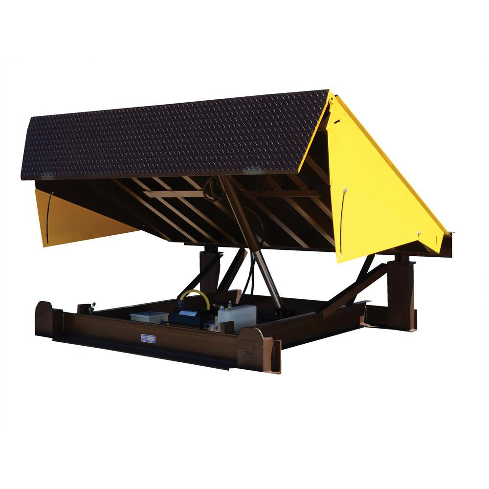 20,000 lb. Capacity 7 ft. x 8 ft. Electric Hydraulic Dock
