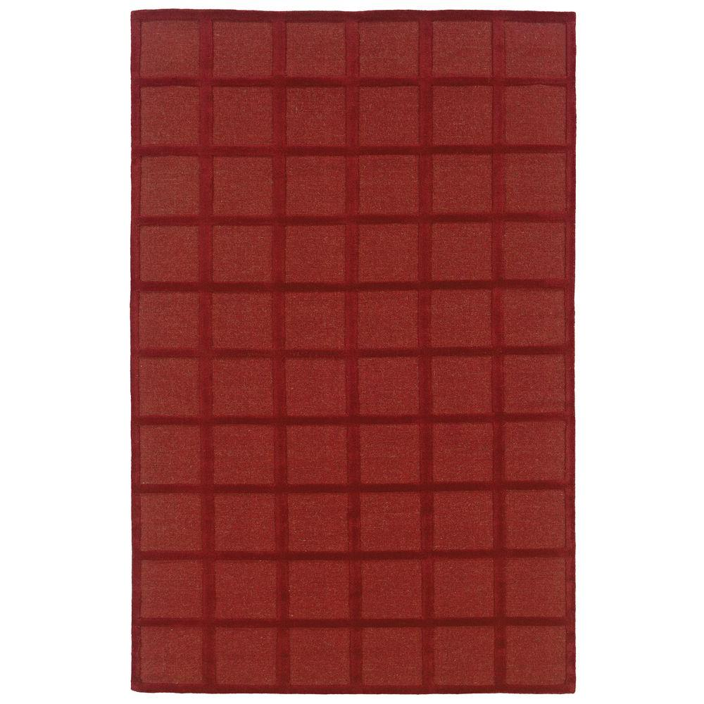 Galaxy Red 8 ft. x 10 ft. Area Rug