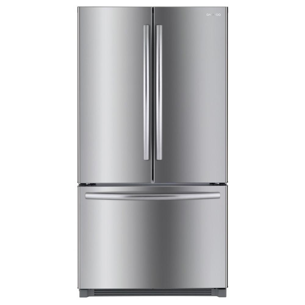 26.1 cu. ft. French Door Refrigerator in Stainless Steel