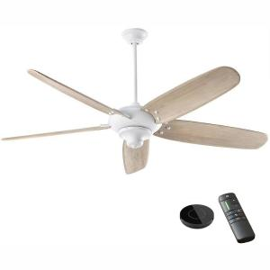 Altura DC 68 in. Matte White Ceiling Fan works with Google Assistant and Alexa