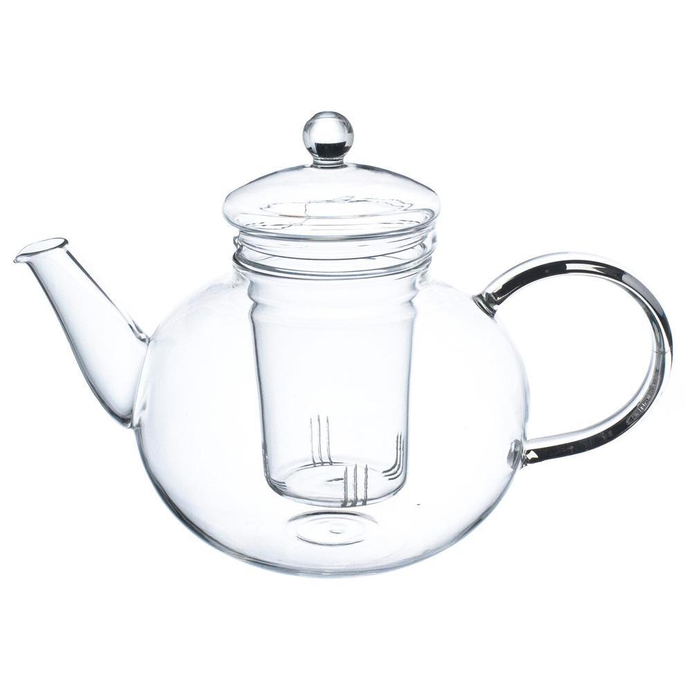 Monaco 42 oz. Loose Leaf Glass Teapot