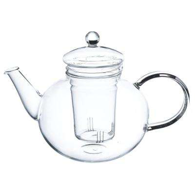 Monaco 42 oz. Loose Leaf Glass Teapot