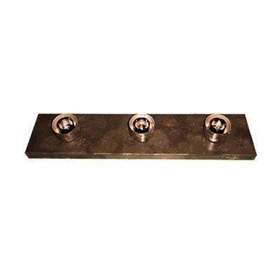 3-Light Ebony Bronze Bath Light