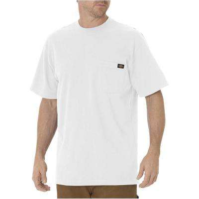 Men's White Short Sleeve Pocket Tee