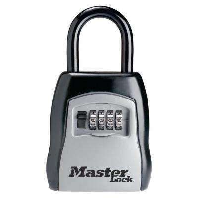 3-1/4 in. Set-Your-Own Combination Portable Lock Box