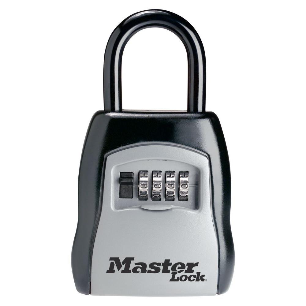 Master Lock 3-1/4 in. Set-Your-Own Combination Portable Lock Box
