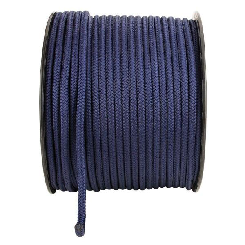 1/2 in. x 250 ft. Nylon Twist Rope, Navy