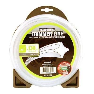 120 ft. Residential 0.130 in. Trimmer Line for Most Walk-Behind String Trimmers