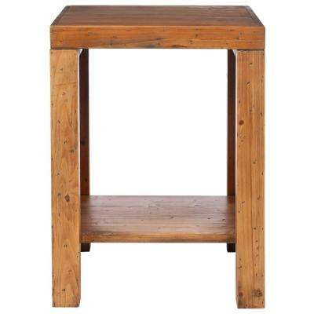 Lahoma Oak End Table