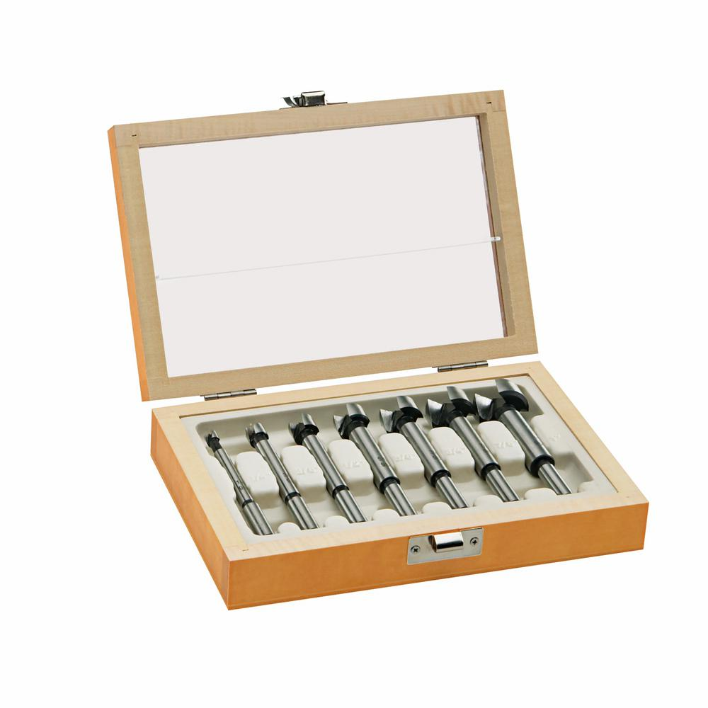 Bosch Forstner Drill Bit Set with Wood Case (7-Piece)