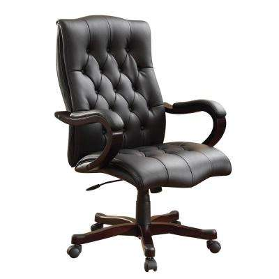 Dixon Black Executive Chair