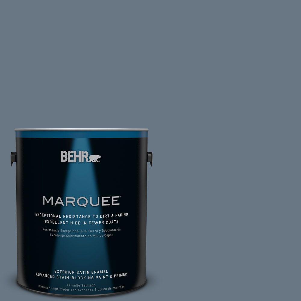 BEHR MARQUEE 1-gal. #MQ5-19 Hypnotic Satin Enamel Exterior Paint