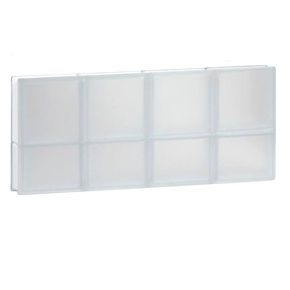 31 in. x 13.5 in. x 3.125 in. Non-Vented Frosted Glass