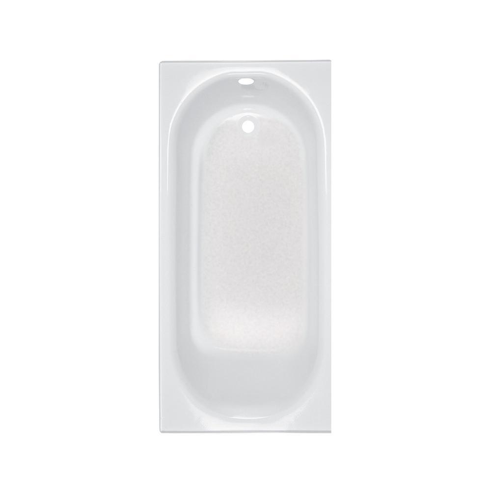 Princeton 60 in. Right Hand Drain Rectangular Alcove Bathtub in White