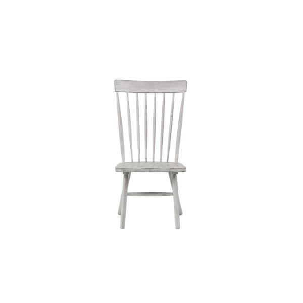 Acme Furniture Adriel Antique White Side Chair (Set of 2) 72412