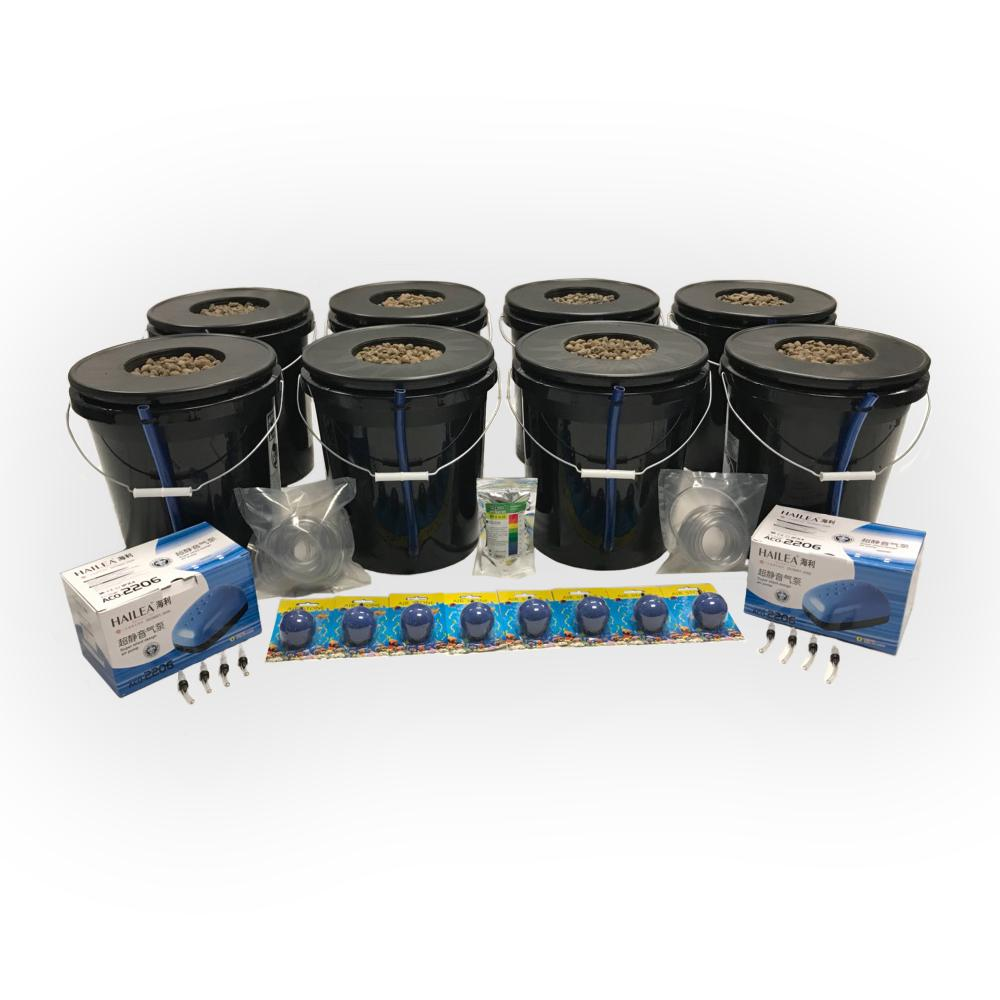 Viagrow Deep Water Culture Hydroponic 8-Plant System