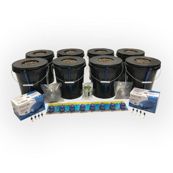 Deep Water Culture Hydroponic 8-Plant System