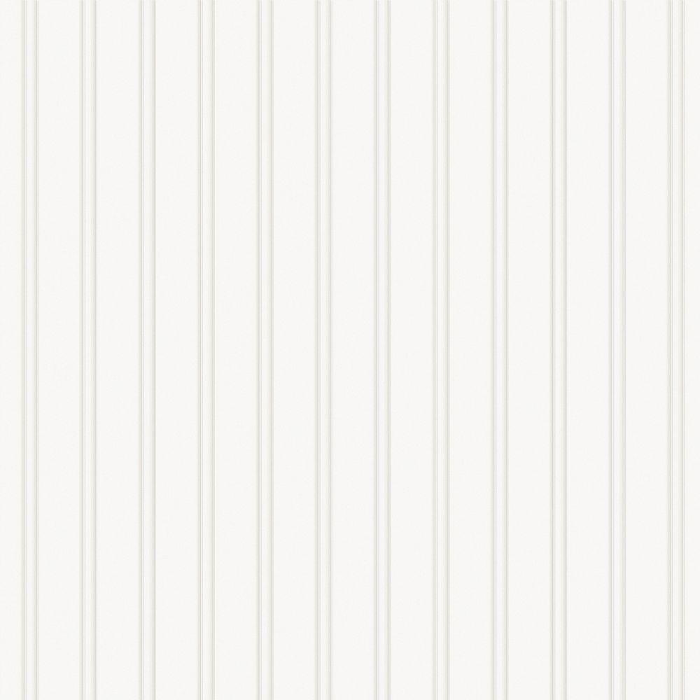 Martha Stewart Living Beadboard Paintable Removable Wallpaper