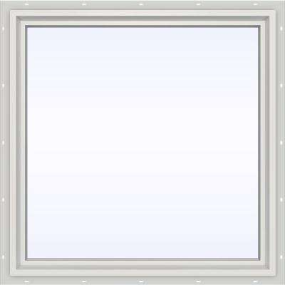 35.5 in. x 35.5 in. V-4500 Series Fixed Picture Vinyl Window in White