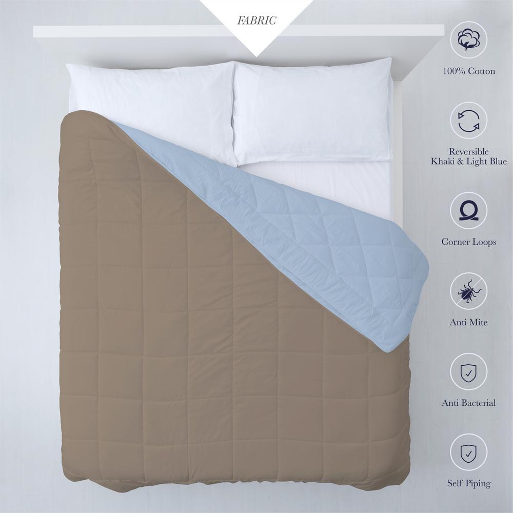 A1HC Down Full/Queen Alternative Reversible Comforter