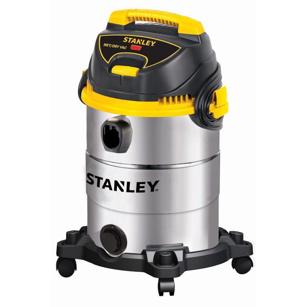 Stanley 6 Gal. Stainless Steel Wet/Dry Vacuum