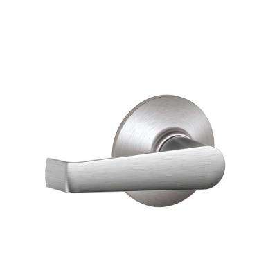 Elan Satin Chrome Passage Hall/Closet Door Lever