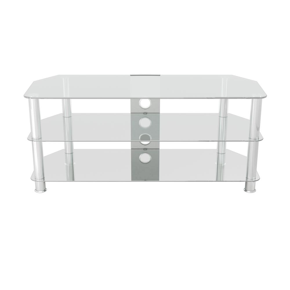 Glass TV Stand for TVs up to 55 in.
