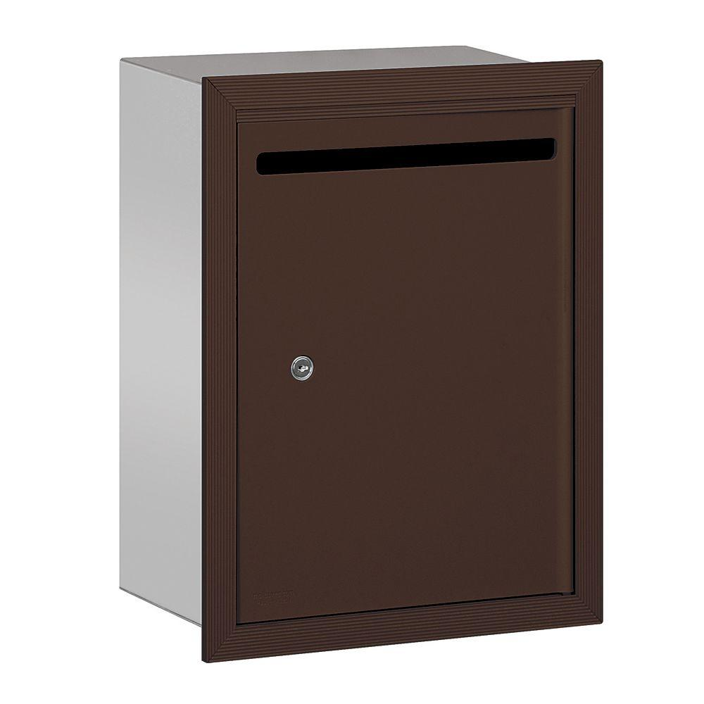 Salsbury Industries 2240 Series Bronze Standard Recessed