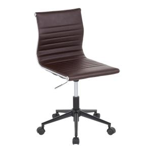 Prime Boraam Mira Brown Office Chair 97912 The Home Depot Ncnpc Chair Design For Home Ncnpcorg