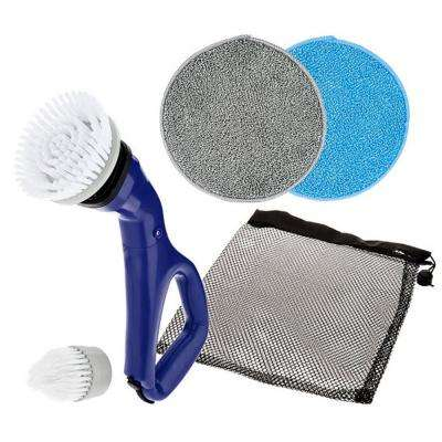 Multi-Purpose Compact Power Scrub Brush in Navy